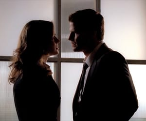 bones, seeley booth, and temperance brennan image