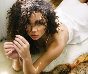 beauty, woc, and curles image