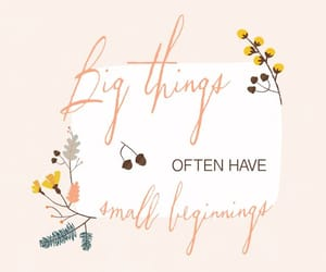 big things, flowers, and inspiration image