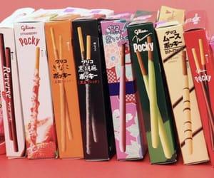 pocky, food, and japan image