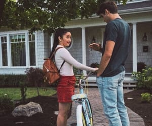 Lana Condor & Noah Centineo in to all the boys i've loved before