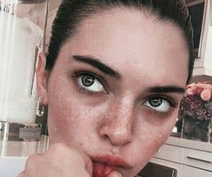 blue eyes, edit, and kardashian image
