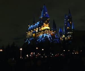 harry potter, hogwarts, and magical image