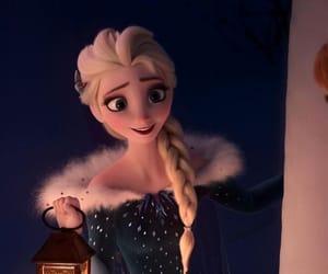 disney, elza, and frozen image