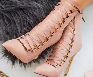 fashion, girl, and high heel image