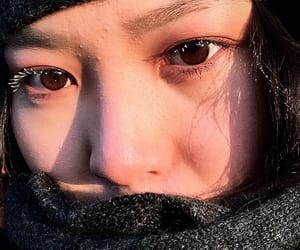 asia, eyes, and face image