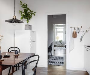 dining, home, and interior image