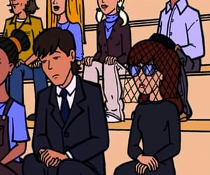 Daria, cartoon, and mtv image