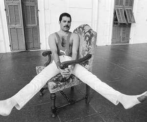 1980s, Freddie Mercury, and Queen image