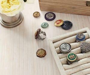 diy button rings image