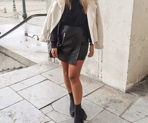 black, blonde, and boots image