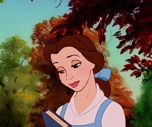 belle, disney, and the beauty and the beast image