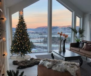 home, christmas, and interior image