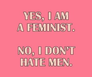 feminist, girls, and pink image