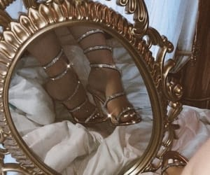 shoes, mirror, and aesthetic image
