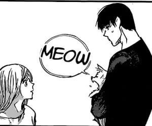 cat, couple, and amon koutarou image