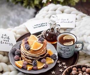 blackberry, breakfast, and tea image