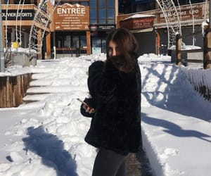 Alps, snow, and girl image