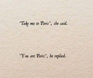 quotes, love, and paris image