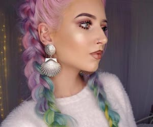 color, hair, and hairstyles image
