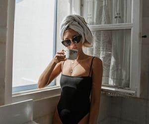 coffee, morning, and sun image