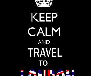 keep calm, london, and travel image