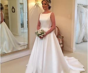 prom dresses, wedding, and formal dress image