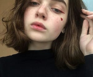 girl, aesthetic, and icon image