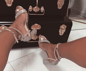 sparkle, fashion, and heels image