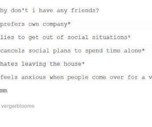 antisocial, anxiety, and comedy image