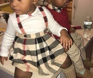 babies, kids fashion, and Burberry image