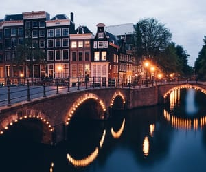amsterdam, lights, and city image
