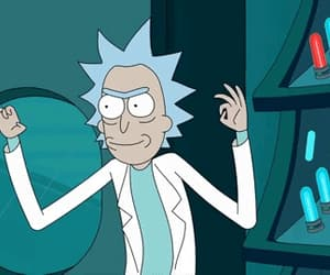 article and rick and morty image