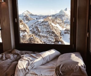 snow, travel, and winter image