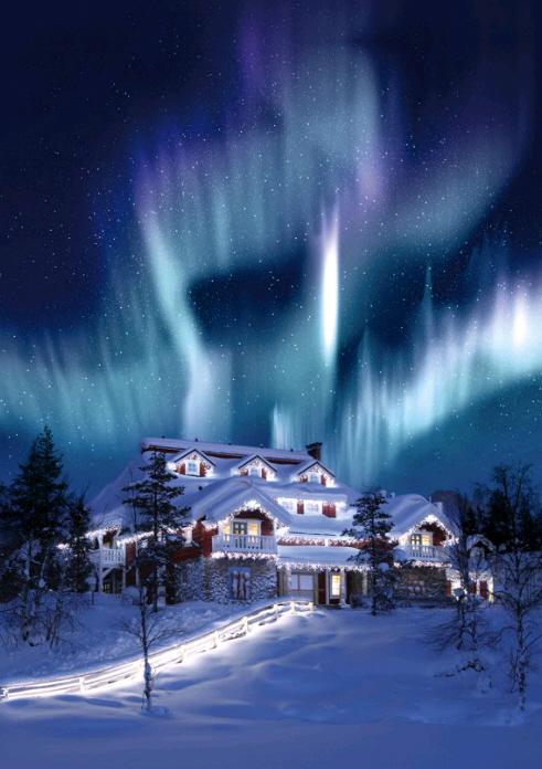 Santa Village Rovaniemi On We Heart It