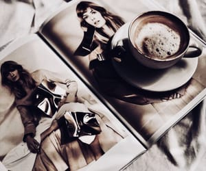 coffee and magazine image