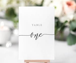 calligraphy, country wedding, and wedding decor image