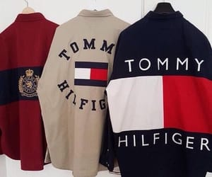 fashion, tommy hilfiger, and clothes image