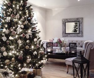 christmas, home, and interior image