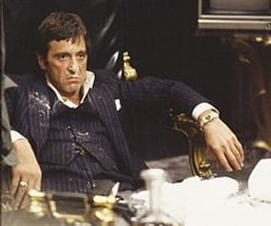 scarface, al pacino, and cocaine image