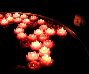 candles, child, and hope image