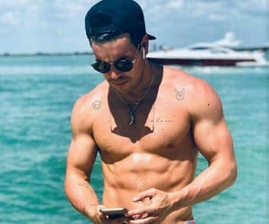 mario casas, spain, and beach image