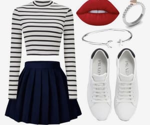jewelry, outfits, and skirt image