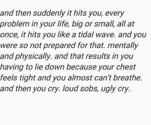 anxiety, breakdown, and crying image