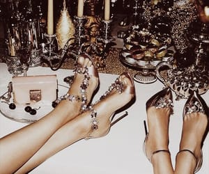 girl, luxury, and shoes image
