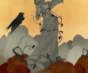 amazing, art, and crow image