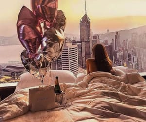 luxury, city, and balloons image