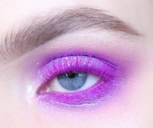 eyeshadow, purple, and aesthetic image