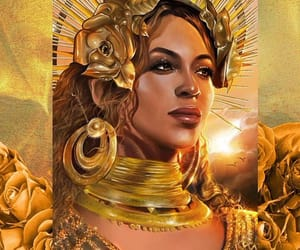 art, painting, and queenb image