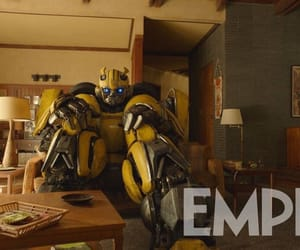 movie, transformers, and bumblebee image